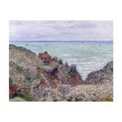 Obraz Claude Monet - Cabin of the Customs Watch, 50 × 40 cm