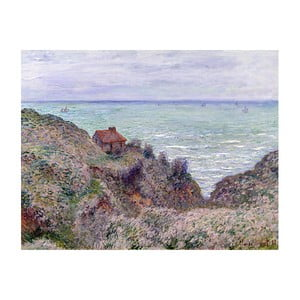 Obraz Claude Monet - Cabin of the Customs Watch, 50x40 cm