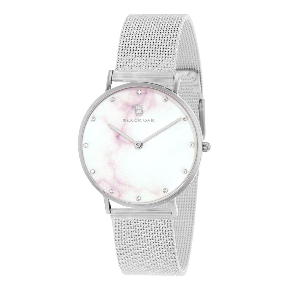 Strieborné dámske hodinky Black Oak Marble  e4c12709b5b