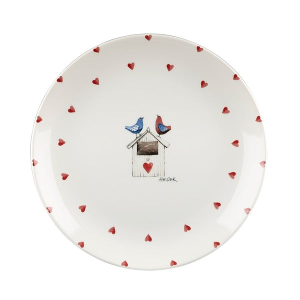 Tanier Churchill China Two Lovebirds, 26 cm