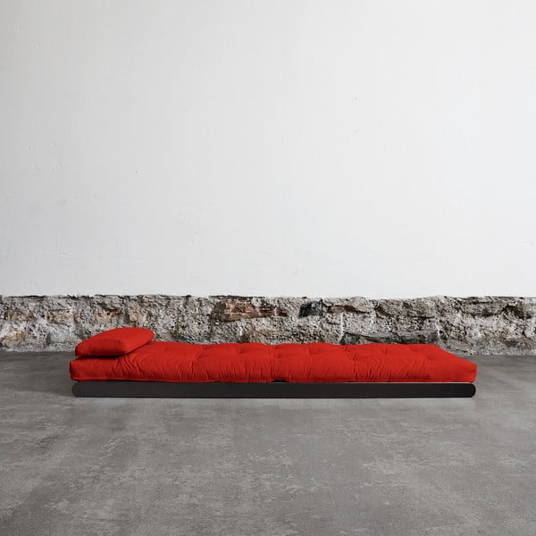 Leňoška Karup Figo, Wenge/Red, 70 cm