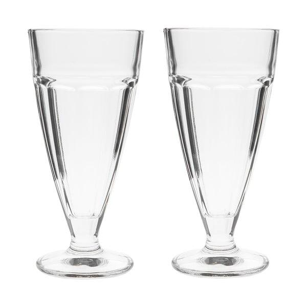 Sada 2 dezertných pohárov, 18 cm