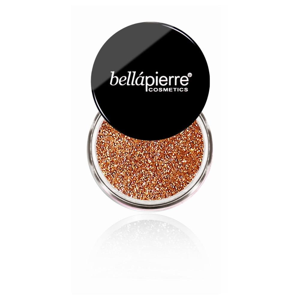 Trblietky na telo a oči Bellapierre Glitter Copper