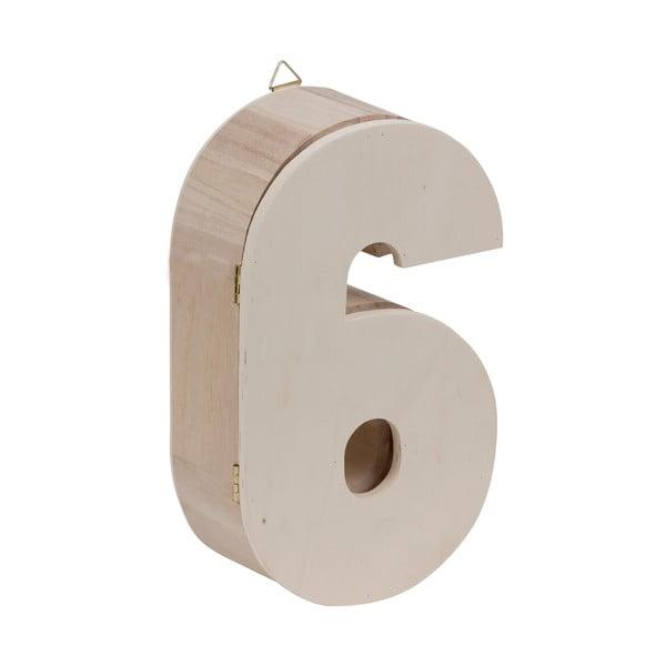 Nástenný box Number 6
