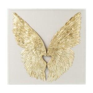 Nástenná dekorácia Kare Design Wings, 120 × 120 cm