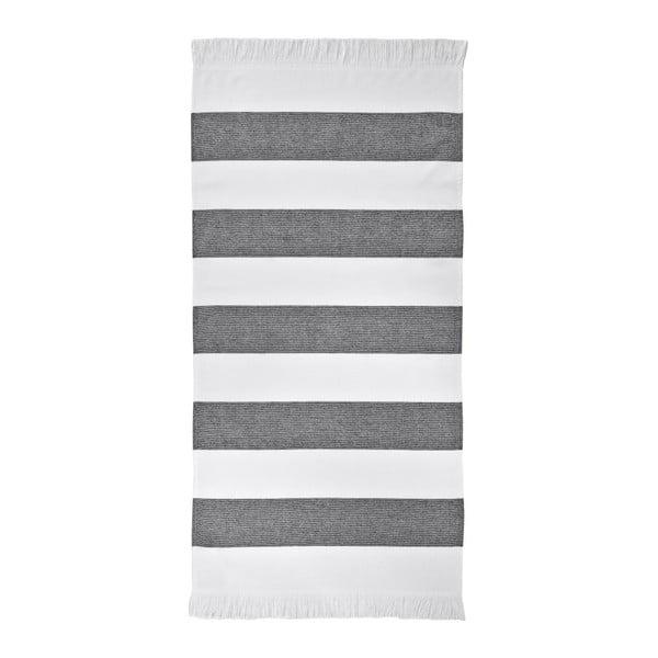 Čierny uterák Aquanova Jolie, 50 x 100 cm