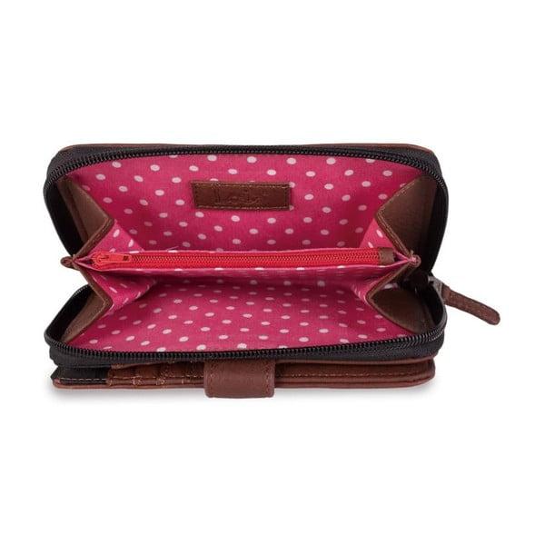 Peňaženka Lois Roses, 18x9 cm