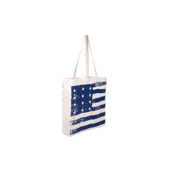 Plátená taška Tri-Coastal Design Blue America