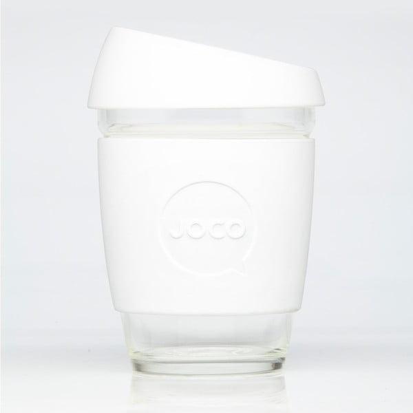 Eko hrnček na kávu Joco Cup 340 ml, biely