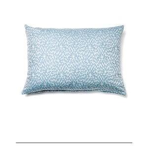 Svetlomodrá obliečka na vankúš z čistej bavlny Casa Di Bassi, 50 x 70 cm