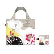 Skladacia nákupná taška skapsičkou LOQI Dahlia