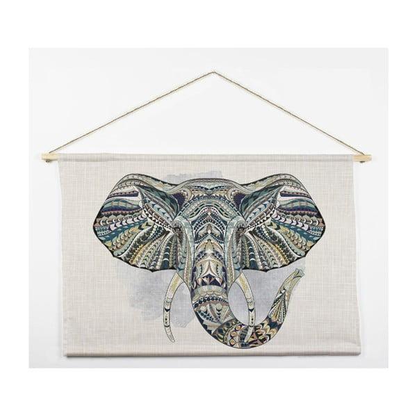 Nástenná dekorácia Tapiz Elephant