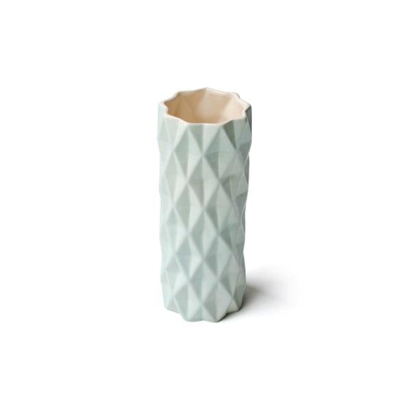 Mentolovozelená váza Hawke&Thorn,výška19cm