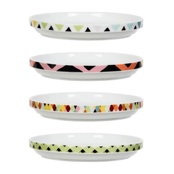 Sada 4 tanierikov Viva, Ø15.3 cm