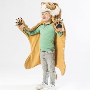 Kostým a predložka v jednom Lev