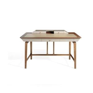 Pracovný stôl z jaseňového dreva Ángel Cerdá Cora