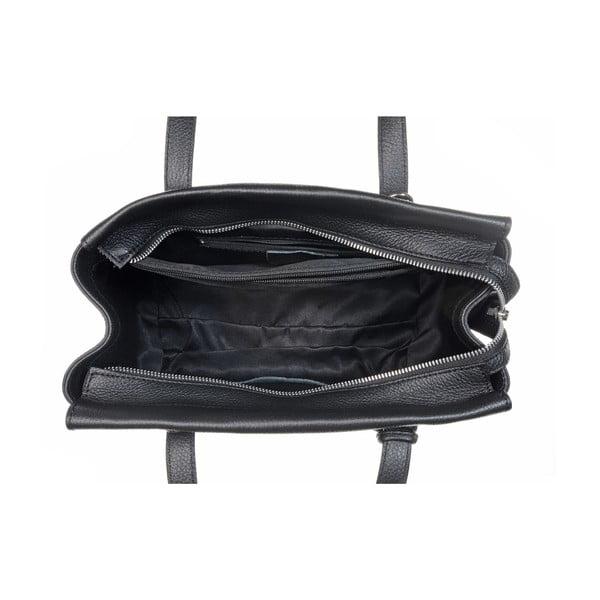 Kožená kabelka Glam Black
