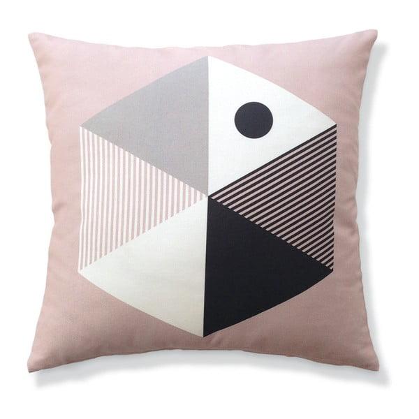 Obliečka na vankúš Kempink Pink, 45x45 cm