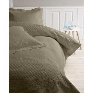 Prehoz cez posteľ Charlene, 260x250 cm, béžovosivá