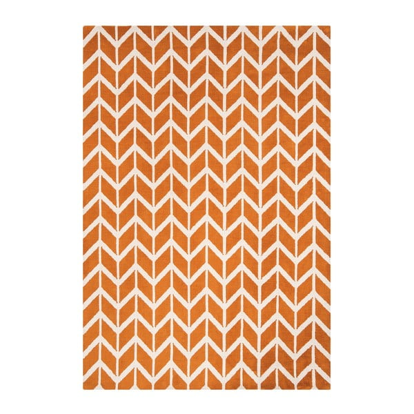 Koberec Asiatic Carpets Chevron Orange, 120x170 cm