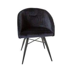 Tmavomodrá stolička Canett Mingo
