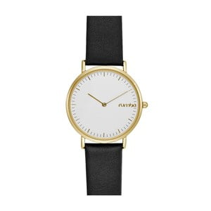 Čierno-zlaté hodinky Rumbatime SoHo Lea