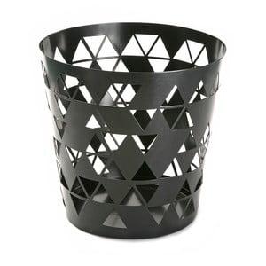 Odpadkový kôš Black Polygon