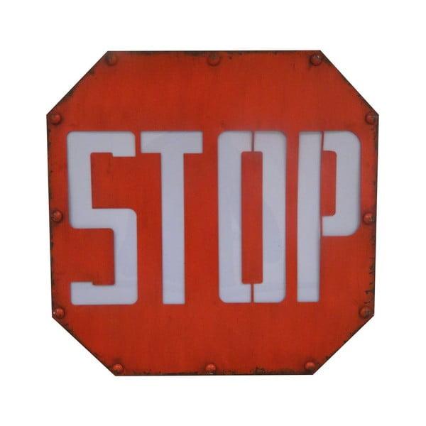 Svetelný dekoratívny nápis Antic Line Stop