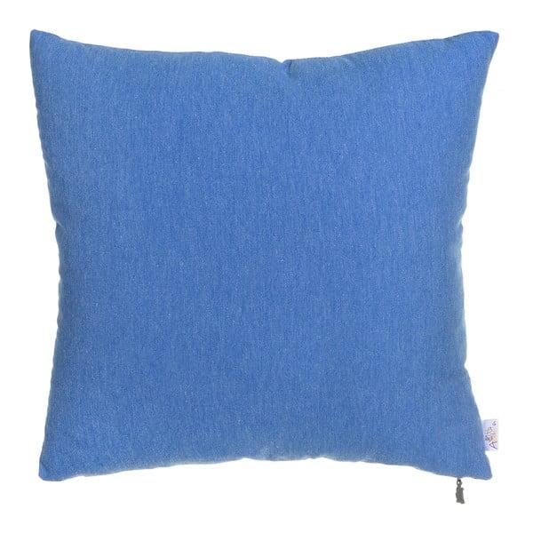 Obliečka na vankúš Apolena Denise 40x40cm, tm. modrá