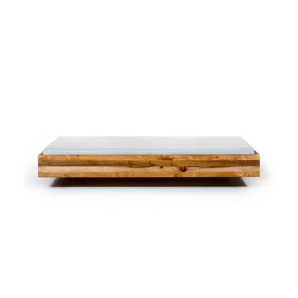 Vznášajúca sa posteľ z jelšového dreva Mazzivo Pool, 140 x 200 cm