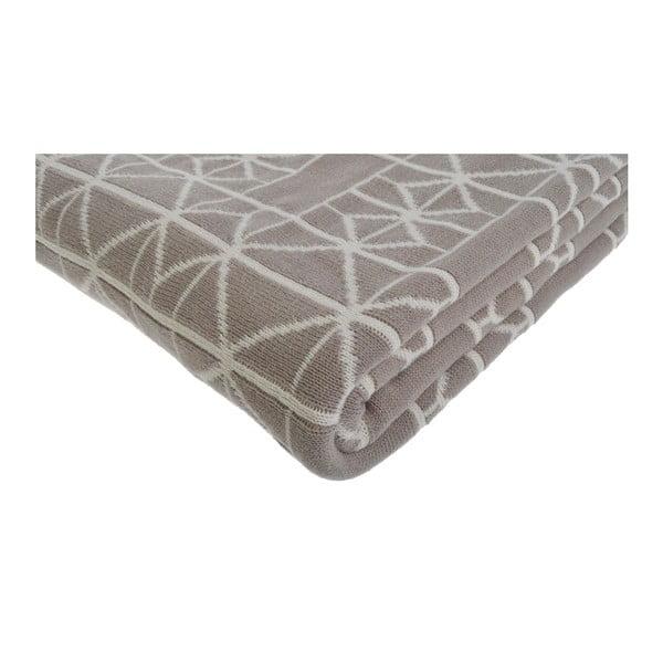 Béžová deka Ewax, 125x150 cm