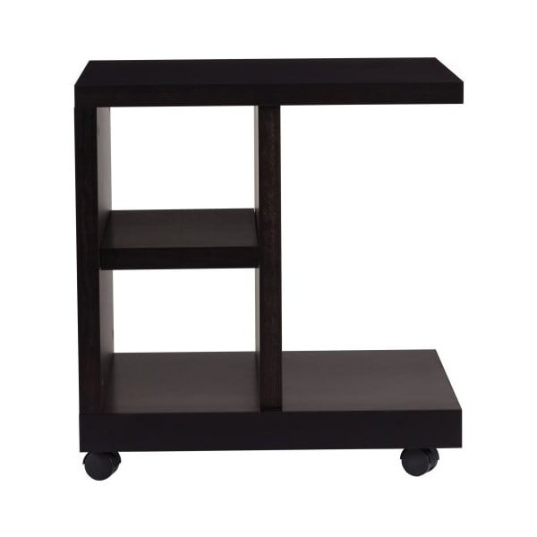 Čierny nočný stolík TemaHome Float