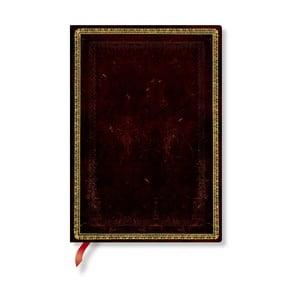 Zápisník s mäkkou väzbou Paperblanks Moroccan, 13 x 18 cm