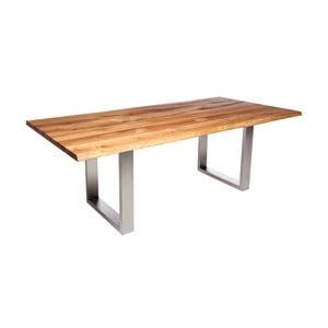 Stôl z dubového dreva Fornestas Fargo Alister, dĺžka 160 cm