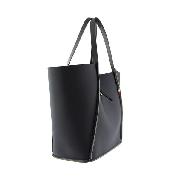 Neoprénová kabelka Fiertes, čierna