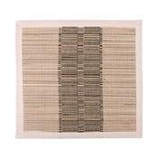 Hnedé prestieranie zo slamy a bavlny Ladelle Akita, 35 × 35 cm
