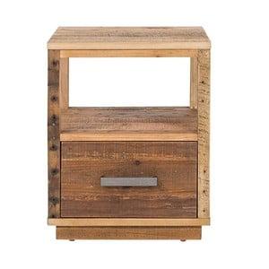 Nočný stolík z borovicového dreva Woodking Canterburry