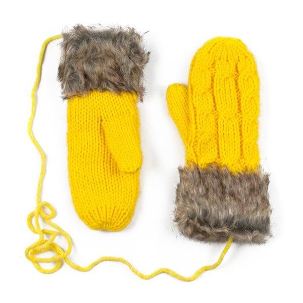Žlté rukavice Dolores