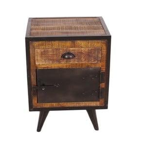 Nočný stolík z mangového dreva SOB Grizzly