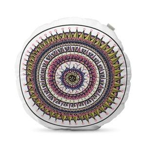 Béžový vankúš HF Living Mandala, ⌀ 50 cm