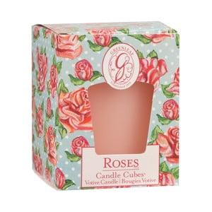 Sviečka s vôňou ruže Greenleaf Roses, doba horenia 15 hodín