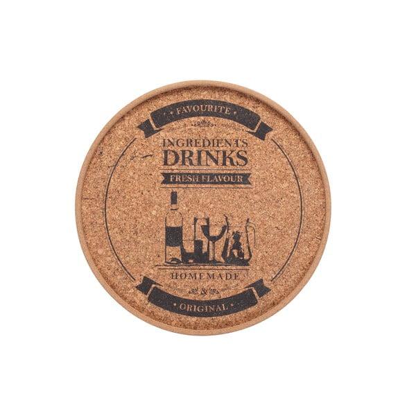 Korkové prestieranie Drinks