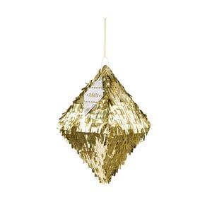 Papierová dekorácia Metalic Gold Pinata