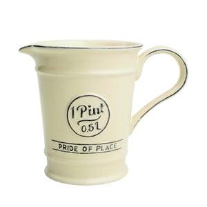Krémový porcelánový džbánik T&G Woodware Pride of Place, 500 ml