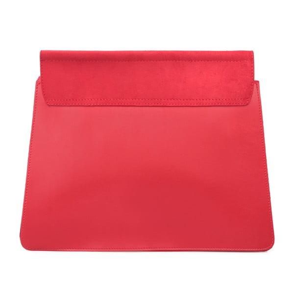 Červená kabelka z eko kože Beverly Hills Polo Club Sylvia