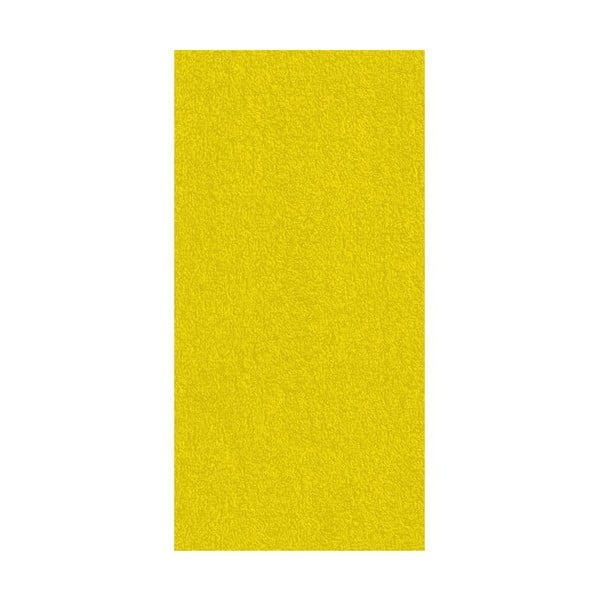 Osuška Ladessa, žltá, 70x140 cm