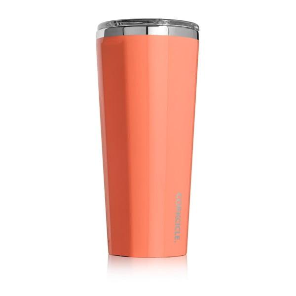 Oranžový termohrnček Corkcicle, 700ml