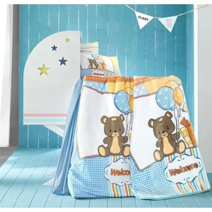 Set detských obliečok, plachty a deky Sweet Bear, 100x150 cm