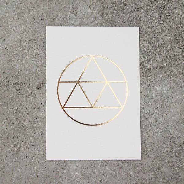 Sada 3 kartičiek SNUG.Golden