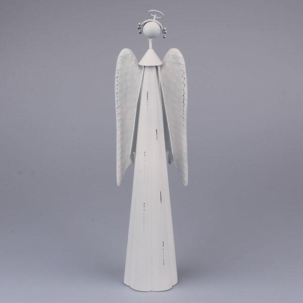 Dekoratívny biely anjel Dakls